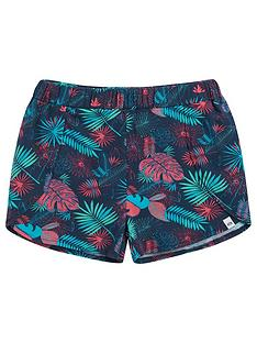 animal-girls-summer-leaf-jersey-shorts-multi