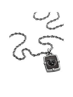 diesel-diesel-black-agate-logo-pendant-and-stainless-steel-mens-neckwear