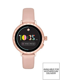 kate-spade-new-york-kate-spade-full-display-rose-gold-scallop-dial-nude-silicone-strap-smart-watch