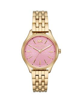 michael-kors-michael-kors-lexington-pink-textured-dial-gold-stainless-steel-bracelet-ladies-watch