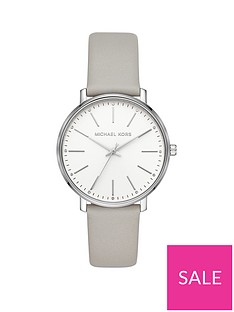 michael-kors-michael-kors-pyper-silver-dial-grey-leather-strap-ladies-watch