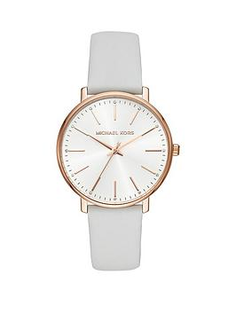 michael-kors-michael-kors-silver-and-rose-gold-detail-white-leather-strap-ladies-watch