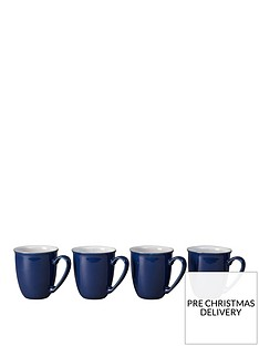 denby-elements-set-of-4-mugs-ndash-dark-blue