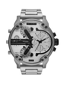 diesel-diesel-mr-daddy-20-grey-and-black-detail-multi-dial-stainless-steel-bracelet-mens-watch