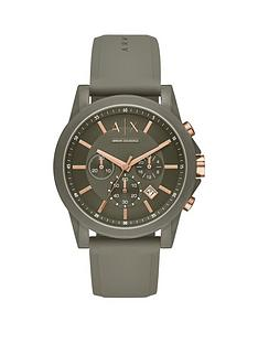 armani-exchange-armani-exchange-outerbanks-olive-and-rose-gold-detail-chronograph-dial-olive-silicone-strap-mens-watch