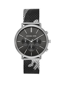 michael-kors-michael-kors-blake-black-and-silver-detail-multi-dial-back-and-gunmetal-camo-print-stainless-steel-mesh-strap-mens-watch