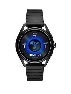 emporio-armani-full-dislay-raven-dial-black-silicone-strap-smart-watch
