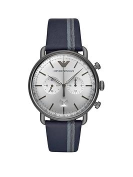 emporio-armani-emporio-armani-aviator-silver-chronograph-dial-blue-printed-detail-leather-strap-mens-watch