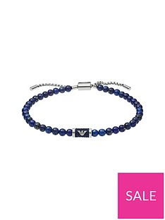 emporio-armani-emporio-armani-blue-beaded-and-silver-logo-mens-bracelet
