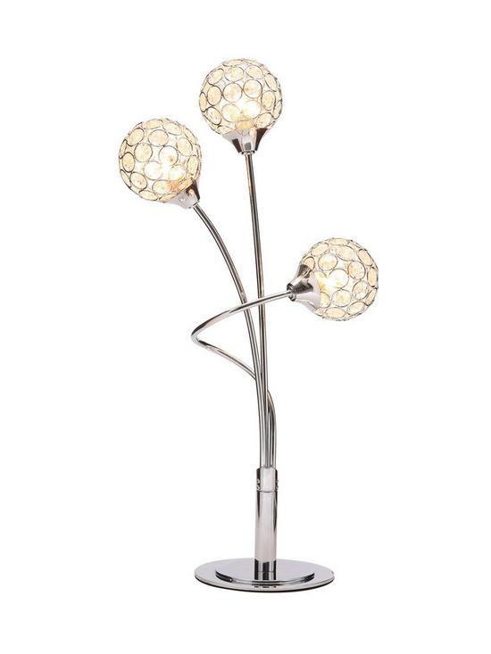Gem Ball 3 Light Table Lamp Very Co Uk