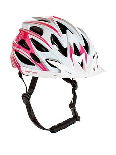 Sport Direct Sport Direct Team Comp Womens 24 Vent Bicycle Helmet 55-58cm