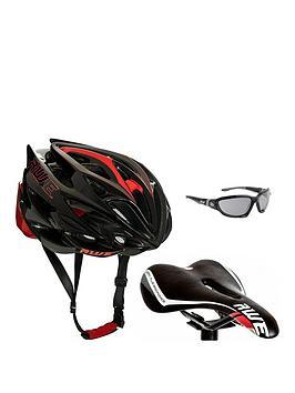 Awe Helmet, Saddle And Glasses Set