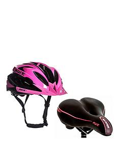 Awe Ladies Helmet and Saddle Set