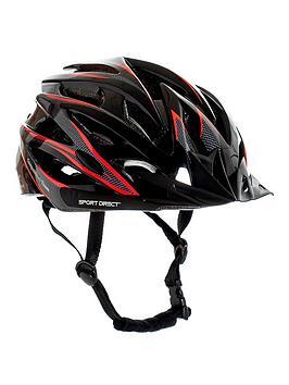 Sport Direct Sport Direct Team Comp Mens 24 Vent Bicycle Helmet 58-61Cm