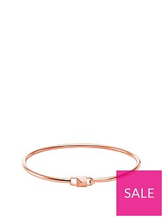 michael-kors-michael-kors-14ct-rose-gold-plated-sterling-silver-and-cubic-zirconia-mercer-link-ladies-bangle