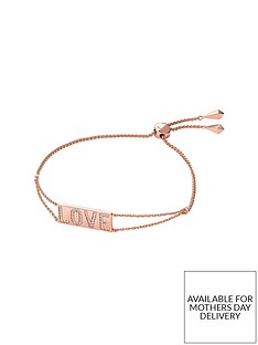 michael-kors-michael-kors-love-14ct-rose-gold-plated-sterling-silver-and-cubic-zirconia-ladies-slider-bracelet