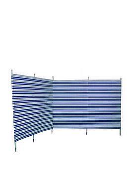 outdoor-revolution-windbreak-5-pole-navy-stripe