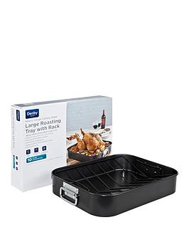 denby-roasting-tray-with-rack