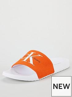 calvin-klein-viggonbspcanvas-sliders-orange