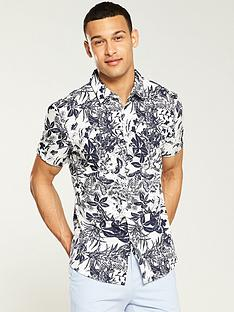 v-by-very-floral-shirt-whitenavy