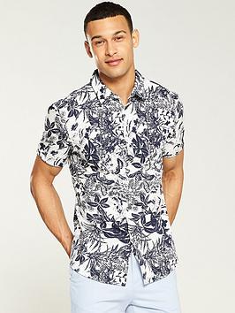 v-by-very-floral-shirt-whitenavy