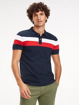tommy-hilfiger-tommy-sportswear-chest-stripe-slim-polo