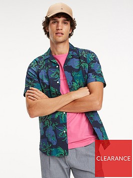 tommy-hilfiger-tropical-palm-short-sleeved-t-shirt
