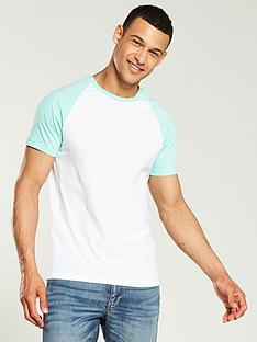 v-by-very-short-sleeve-raglan-t-shirt-whitemint