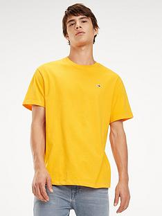 tommy-jeans-classic-t-shirt-yellow