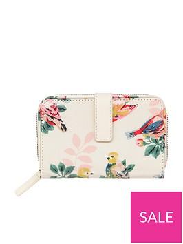 cath-kidston-spring-birds-folded-zip-wallet-cream