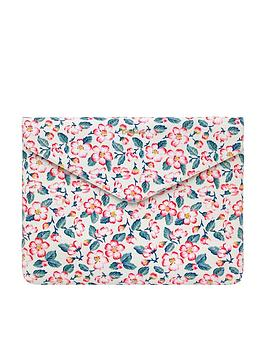 cath-kidston-climbing-blossom-13-inch-smart-tablet-sleeve-cream
