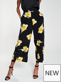 warehouse-katy-floral-culottes