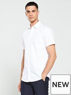 v-by-very-short-sleeved-easycare-shirt-buy-2-for-pound20-white