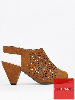 evans-evans-extra-wide-fit-lazer-cut-cone-heel-shoe