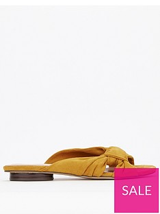 evans-evans-extra-wide-fit-knot-mule-flat-sandal