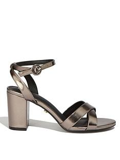 8121c456baa Oasis Annie Block Heel Sandals - Metallic
