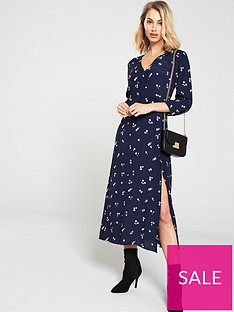 warehouse-verity-ditsy-floral-midi-dress-navy