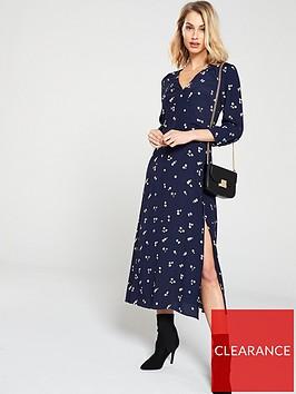 warehouse-verity-ditsy-floral-midi-dress-navy