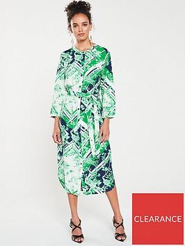 warehouse-scarf-print-midi-shirt-dress
