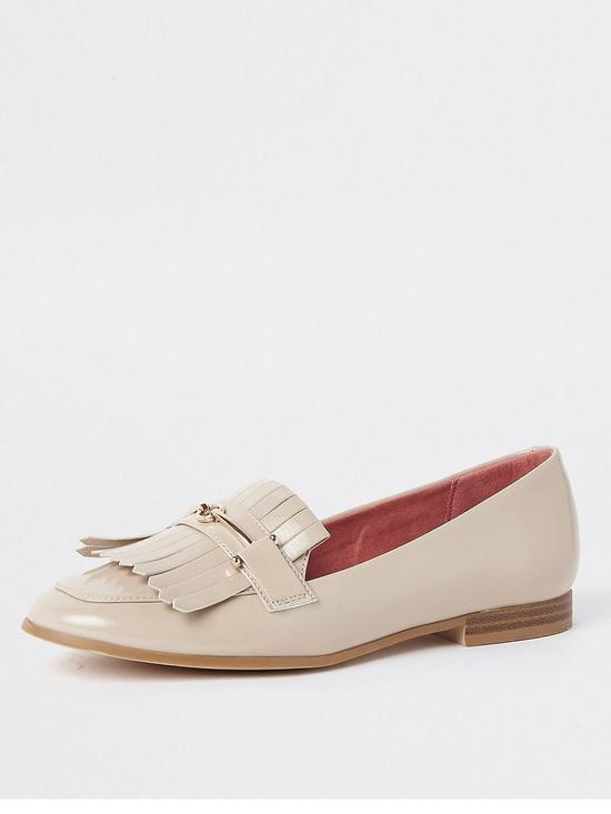 573654a2f74 River Island River Island Snaffle Detail Loafer - Nude