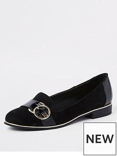 river-island-river-island-branded-detail-loafer-black