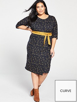 monsoon-curve-charlotte-print-wrap-midi-dress-navy