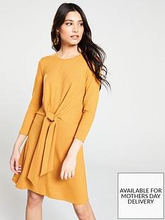 v-by-very-knotted-jersey-dress