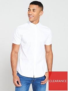 very-man-short-sleeved-oxford-shirt-white