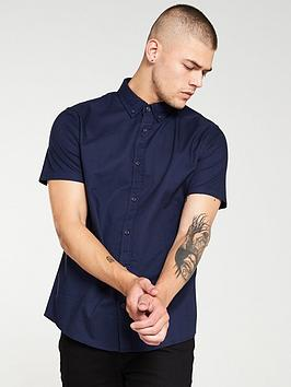 v-by-very-oxford-shirt-navy-blue