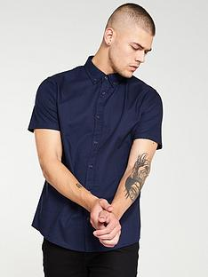 very-man-oxford-shirt-navy-blue