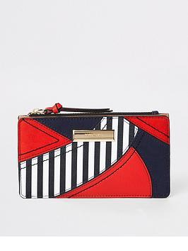 river-island-river-island-print-slim-foldout-purse-red