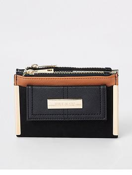 river-island-contrast-mini-purse-black