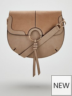 v-by-very-paris-tassel-saddle-bag-taupe