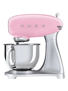 Smeg Pink 50s Style Stand Mixer
